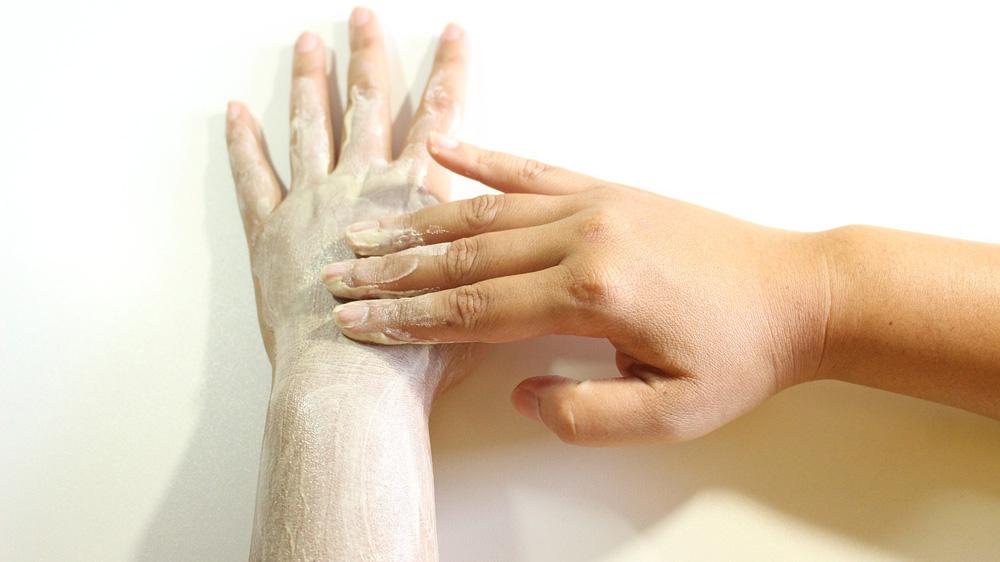 Natürliches Peeling / Gesichtsmaske selbst herstellen